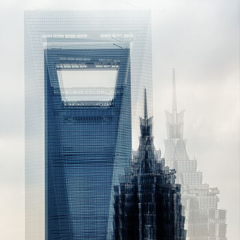 Photo SHANGHAI  THE TWO TOWERS - Laurent Dequick