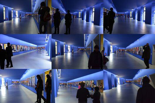 Photo Bleu Avignon - Jean-Paul Espaignet