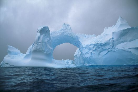 Photo Arch of Ice - Patrick de Wilde