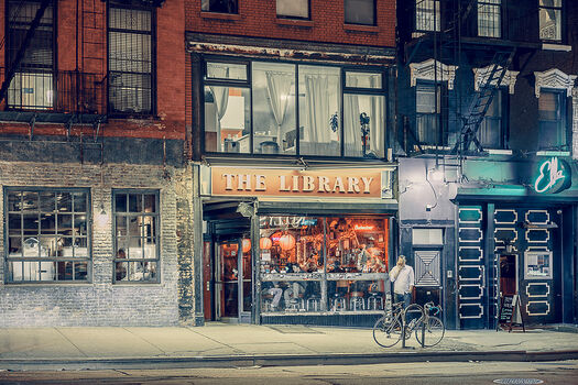 Photo The Library East Village NY - Franck Bohbot