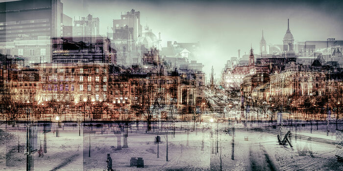 Photo MONTREAL - PLACE JACQUES CARTIER I - Laurent Dequick