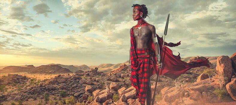 Photo Maasai - African Sunrise - Lee Howell