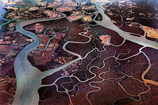 Photo Delta de l'Irrawady - Matthieu Ricard
