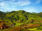 Qilian mountain