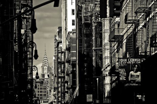 Photo Chrysler in Soho - Guillaume Gaudet