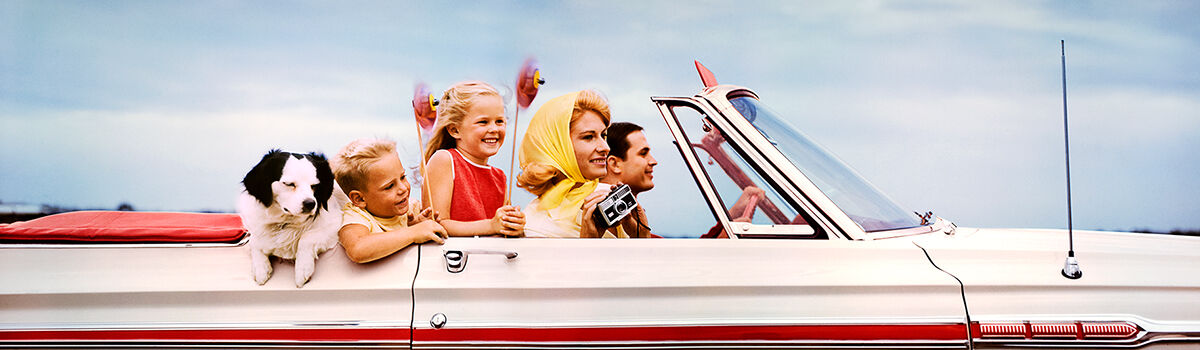 Photo CONVERTIBLE 1968 - HANK MAYER - Colorama