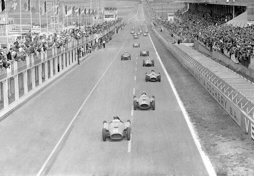 Photo Grand prix de France, Reims 1956 - SPORTS PRESSE