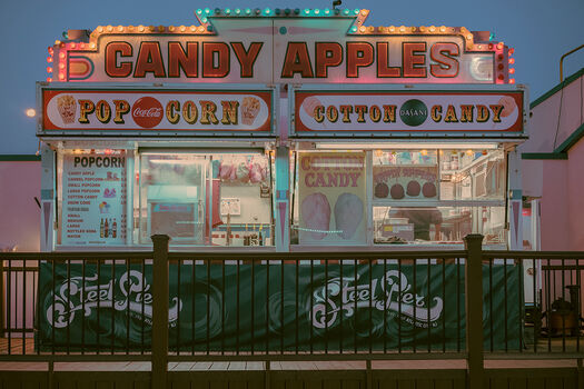 Photo CANDY APPLES ATLANTIC CITY - Franck Bohbot
