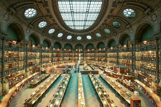 Photo BIBLIOTHÈQUE NATIONALE DE FRANCE - Franck Bohbot