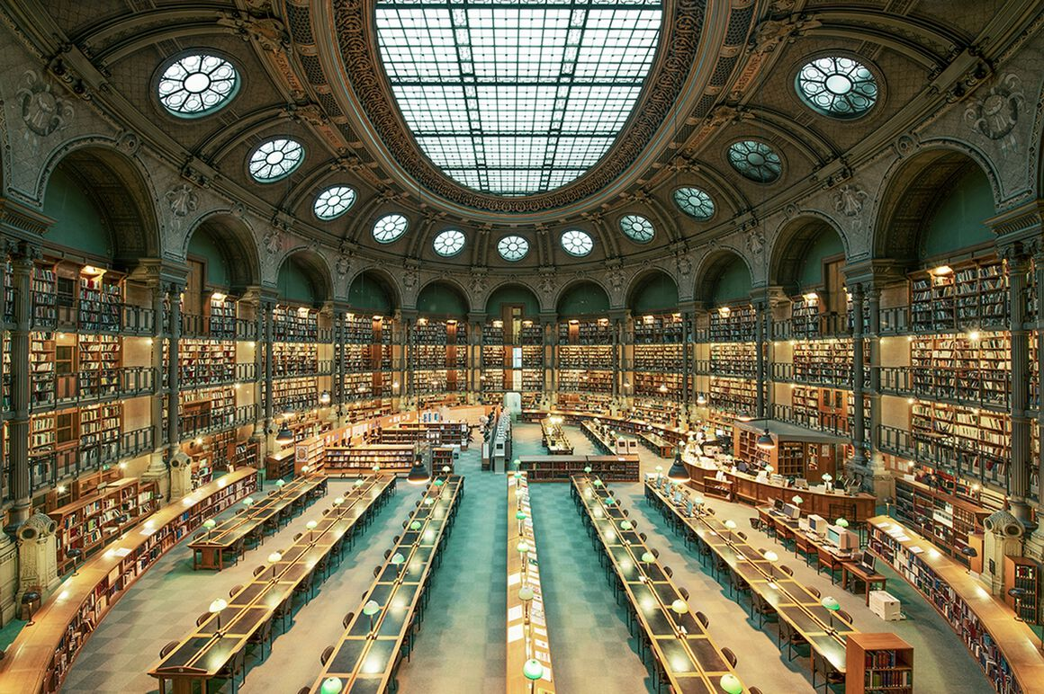photographie  biblioth u00c8que nationale de france  franck bohbot  u00b7 yellowkorner