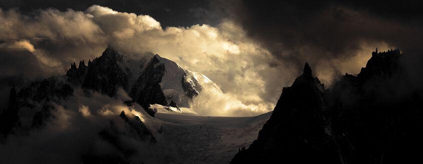 Aiguilles massif du Mont-Blanc