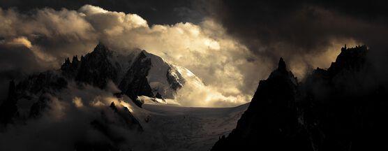 Photo Aiguilles massif du Mont-Blanc - Alexandre Deschaumes