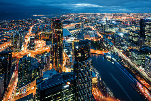 Photo Veins of Melbourne II - Jörg Dickmann