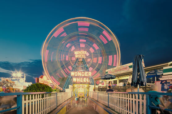 Photo WONDER WHEEL IN MOTION - Franck Bohbot