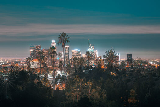Photo LOS ANGELES CITY VIEW - Ludwig Favre