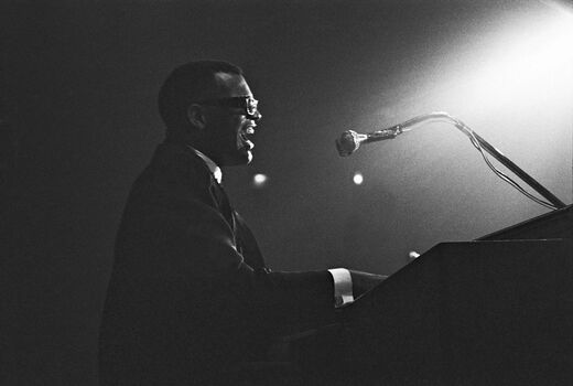 Photo Ray Charles, Paris 1961 - Hervé Gloaguen