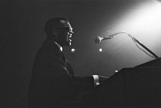 Photo Ray Charles, Paris 1961 - Hervé Gloaguen