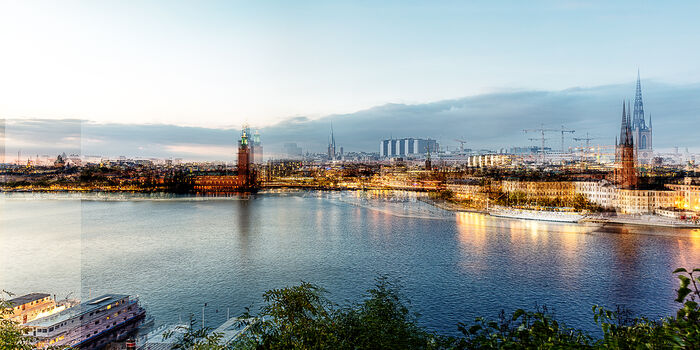 Photo STOCKHOLM - BLUE HOUR - Laurent Dequick