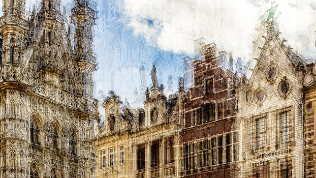 Photo LEUVEN GEVELS - Laurent Dequick