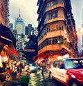 Photo Wan Chai at Dusk - Nicolas Jacquet
