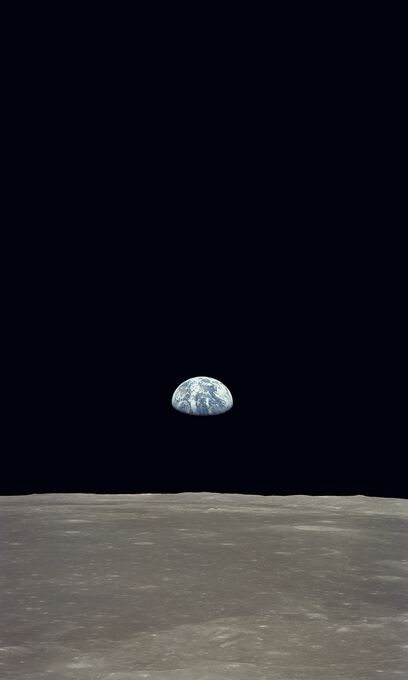 Photo Lever de terre - APOLLO 11 NASA