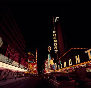 Photo Streets of Las Vegas, 1967 - KEYSTONE AGENCY