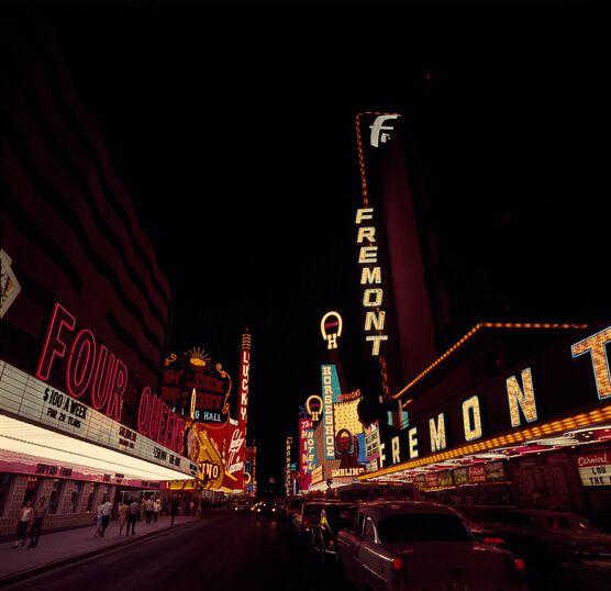 Photo Streets of Las Vegas, 1967 - KEYSTONE AGENCY
