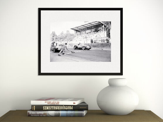 Photo Grand Prix ACF, Rouen 1957 - SPORTS PRESSE