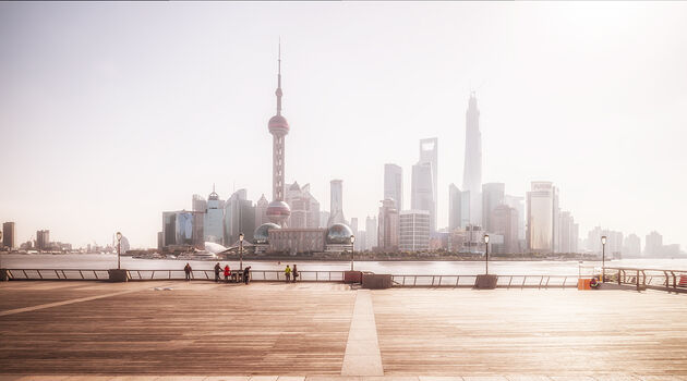 Photo SHANGHAI  PUDONG'S MORNING - Laurent Dequick