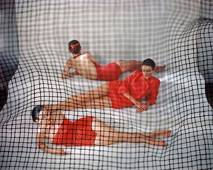 Photo RED BATHING - Erwin BLUMENFELD