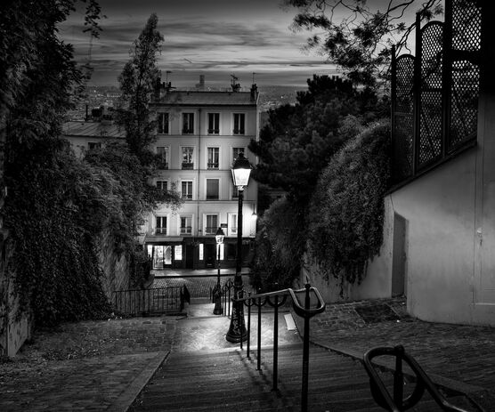 Photo Escalier Montmartre - Serge Ramelli