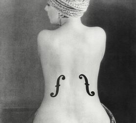 Photo Le violon d'Ingres, 1924 - MAN RAY