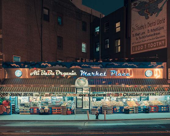 Photo Ali Baba organic market place NY - Franck Bohbot
