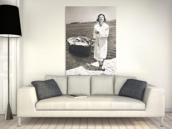 Photo Dali avant le bain - Jean Dieuzaide