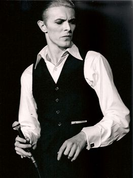 Photo David Bowie, London 1976 - Jan Werner