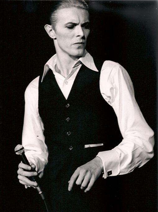 Photo David Bowie, London 1976 - Jan Werner