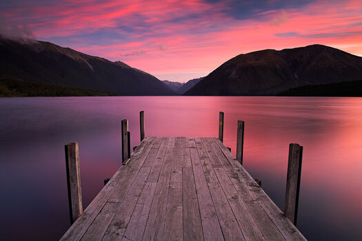 Photo Aotearoa Pinks - Adam Burton