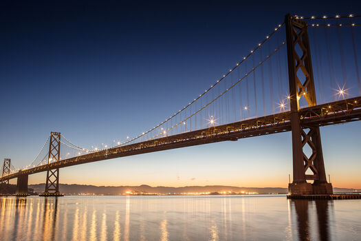 Photo San francisco bay bridge - Ludwig Favre