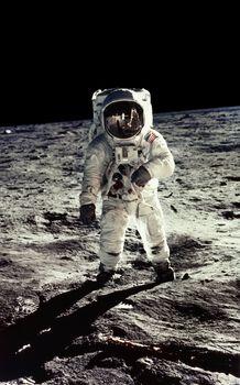 Photo E.Aldrin, Apollo 11 - Neil Armstrong