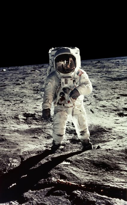 Photo E.Aldrin, Apollo 11 - Neil Armstrong