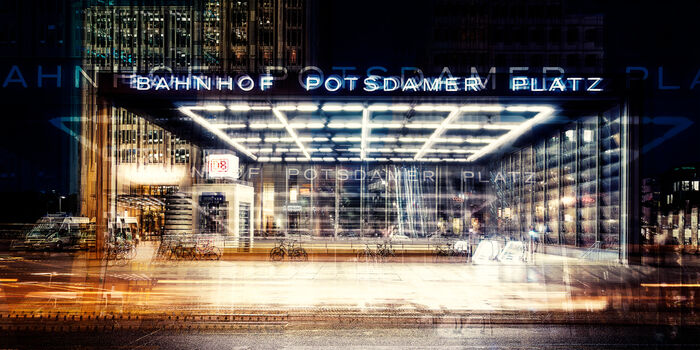Photo Berlin Bahnhof Potsdamer Platz - Laurent Dequick