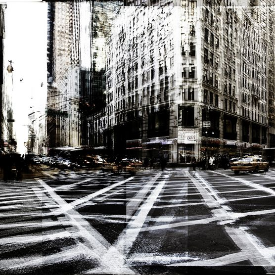 Photo NY Cross Road I - Laurent Dequick