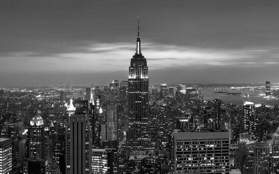 Photo Twilight over Manhattan - Hakan Strand