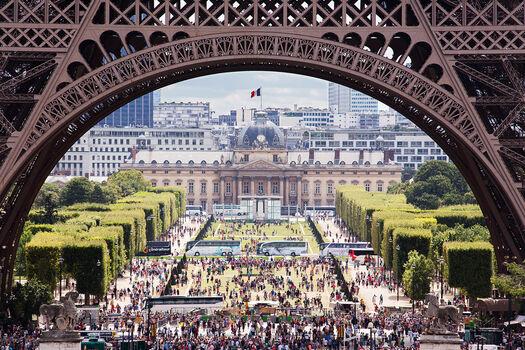 Photo Eiffel tower - Sandro Gämperle