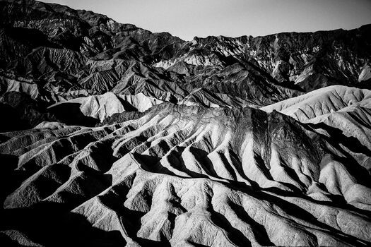 Photo Zabriskie Point Death Valley - Laurent Baheux