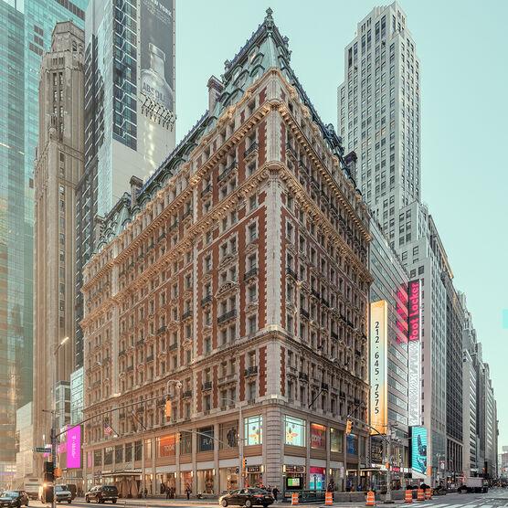 Photo THE KNICKERBOCKER NEW YORK - Ludwig Favre