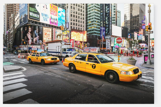 Photo New york yellow cab - Ludwig Favre