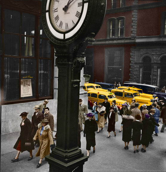 Photo 1938 TEMPO OF THE CITY MANHATTAN - Marie-Lou Chatel