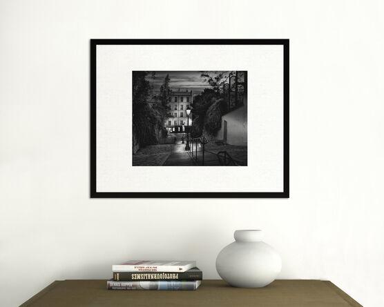 Photo Escalier Montmartre - Serge Ramelli
