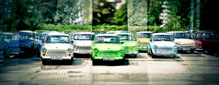 Photo Berlin Trabant - Laurent Dequick